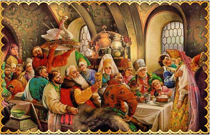 Старорусская свадьба