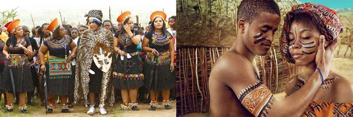 Ариканские молодожены и свадебные обычаи