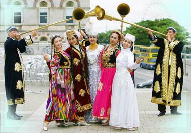 Сюжет узбекской свадьбы