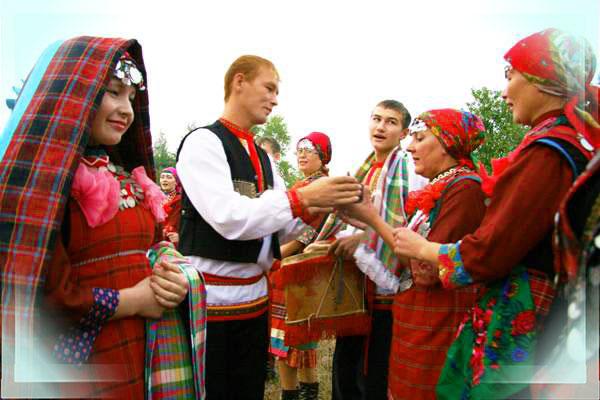Урдмуртский свадебный обряд карлыган