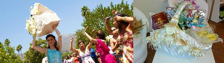 Корзинки на армянской свадьбе