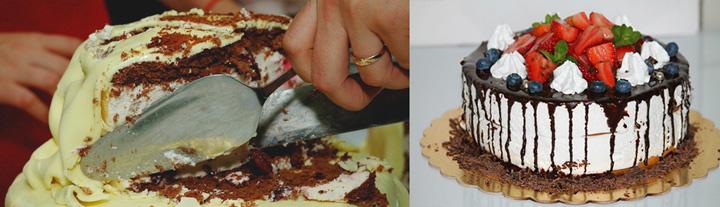 Свадебный торт и его нарезка
