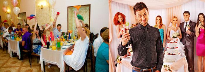 породнение и знакомство всех гостей на свадьбе видео