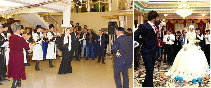 Традиционно чеченский жених сам выбирает себе невесту