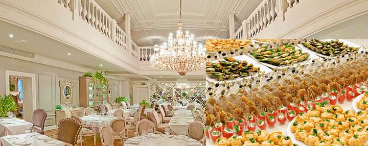 Выбор ресторана и меню для свадьбы