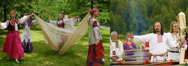 Староруские девичник и молодешник