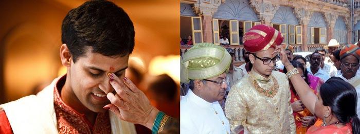 Индийская предсвадебная церемония тилак