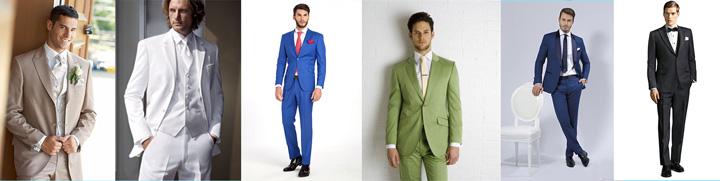 Мужские костюмы на свадьбу