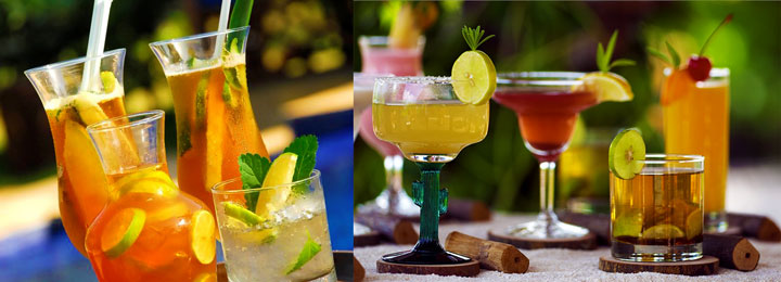Летние охлождающие напитки на свадьбу