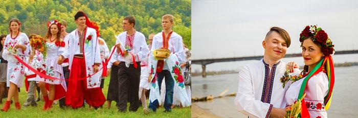 Сюжеты украинской свадьбы