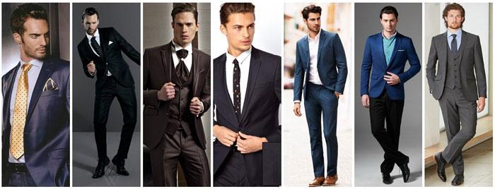 Мужские костюмы для свадьбы