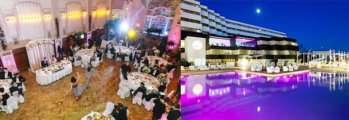 Отель и проведение свадьбы