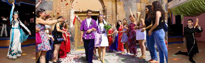 Молодожены армяне