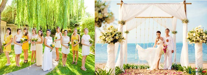 Лето и свадьба
