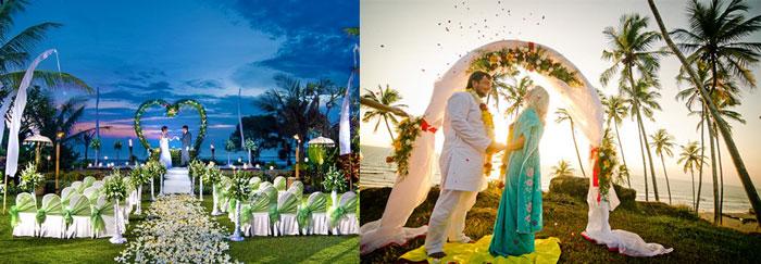 Молодожены и церемония на ГОА и Бали