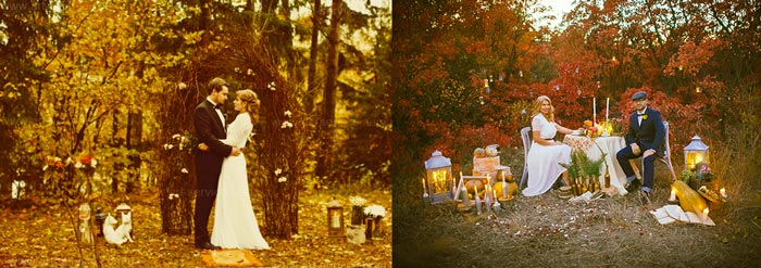 Осень и свадьба