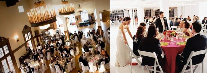 Размещение гостей на свадьбе