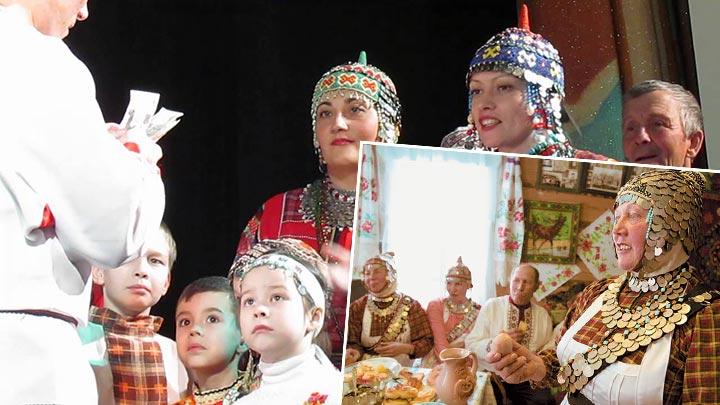 Старинные свадебные обряды на чувашской свадьбе