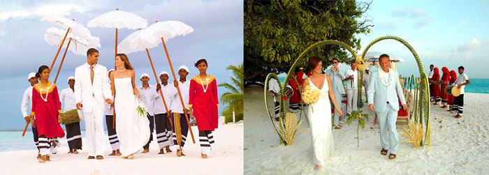 Этапы свадьбы на Мальдивах