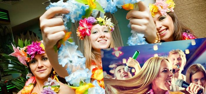Песни на гавайском девичнике