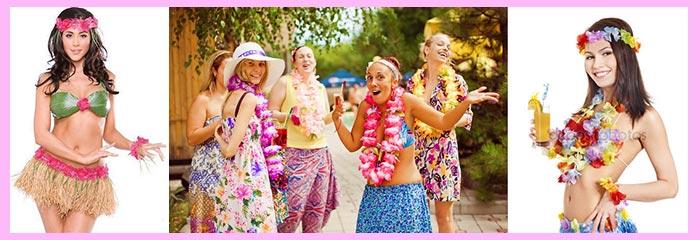 Наряды для гавайской вечеринки