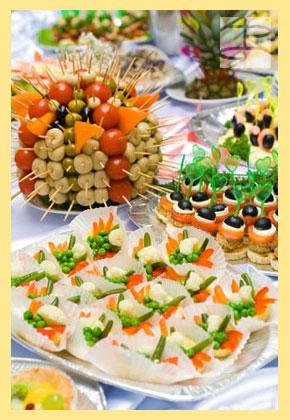 Блюда свадебного стола