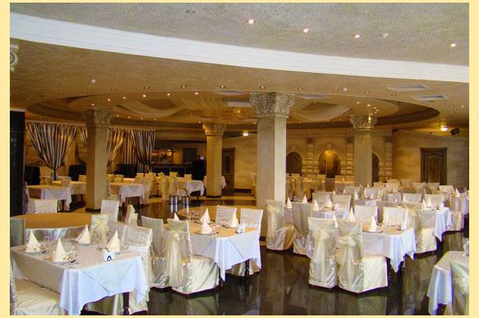Зал ресторана для свадьбы