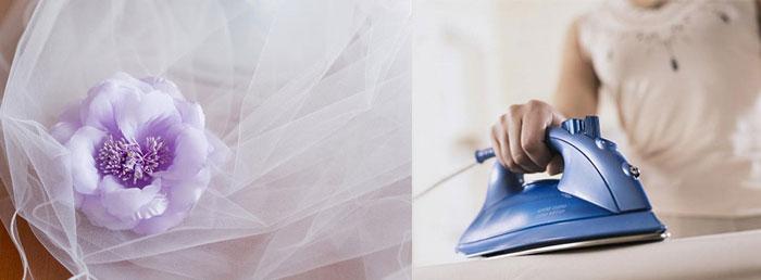 Свадебные банты и глажка