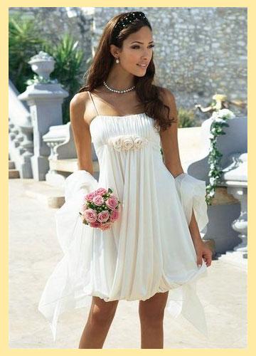 Свадебное платье летнее