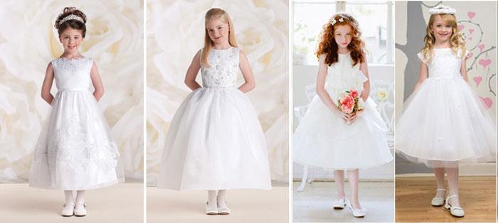 Детские свадебные платья ренесанс
