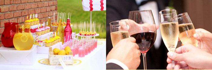 Свадебные напитки