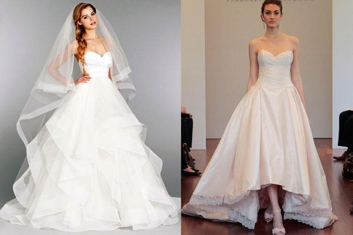 Свадебные платья из тафты