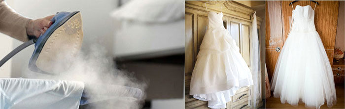 Как отпарить платье в домашних условиях отпаривателем