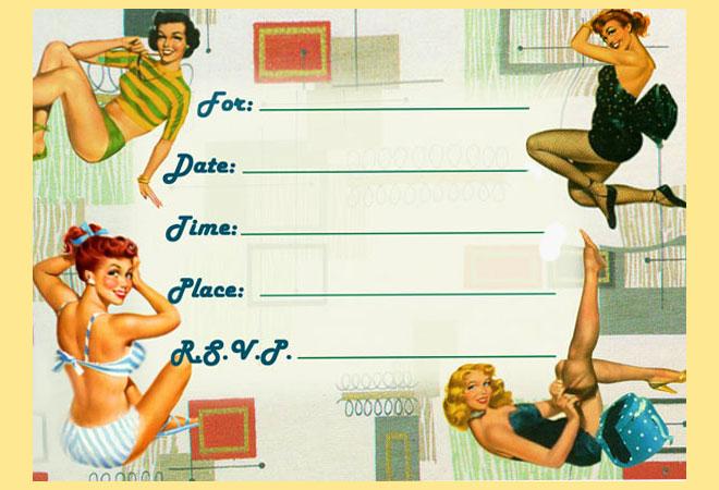 Приглашения на девичник