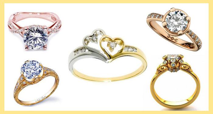 Разные перстни и кольца