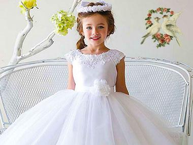 Детское свадебное платье