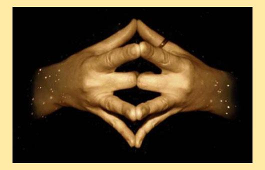 Пальцы на руках сложенные попарно