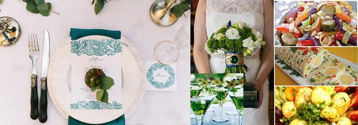 Блюда на свадьбе