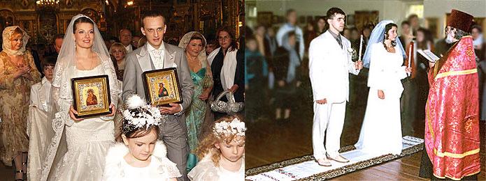 Венчание процесс
