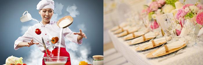 Шеф-повар и свадебное меню
