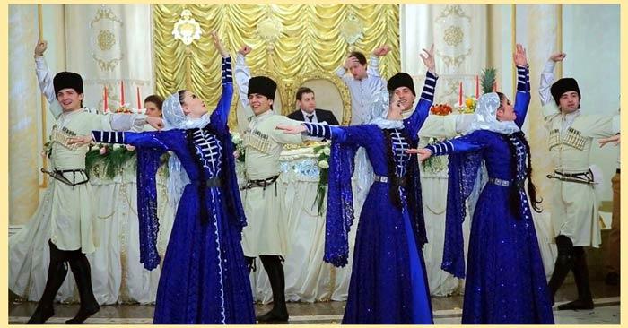Танцы кавказкой свадьбы