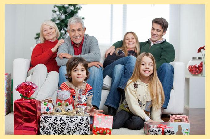 Семья и Рождество