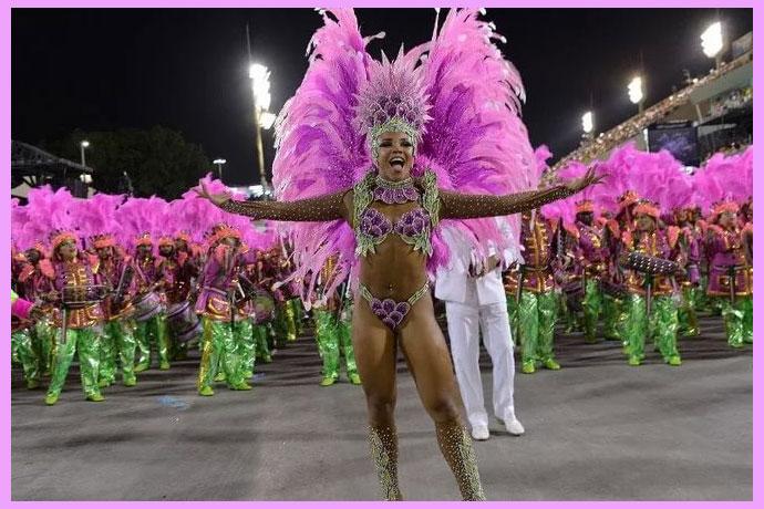 Каранвальное шествие Рио-де_Жанейро