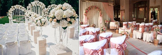 Свадебный классический декор