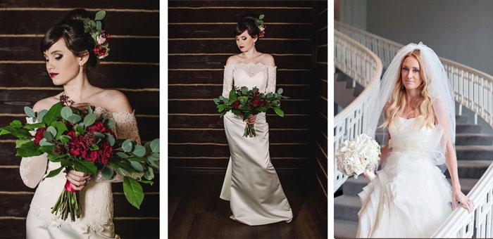 Классичекие наряды невесты