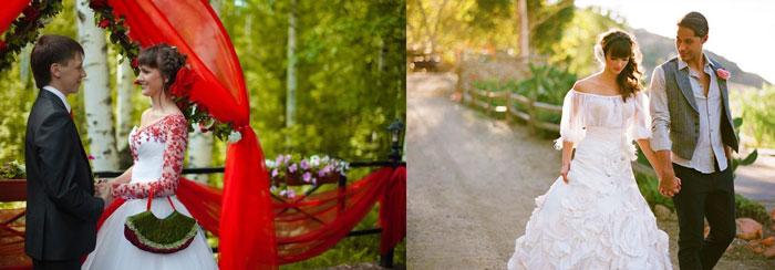 Наряды жениха и невесты испанский стиль