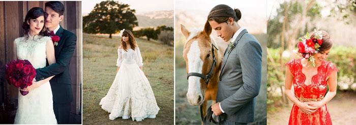 жених и невеста в испанском стиле