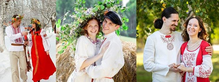 Жени и невеста славянские образы
