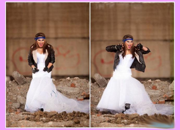 Одежды невесты в стиле рок