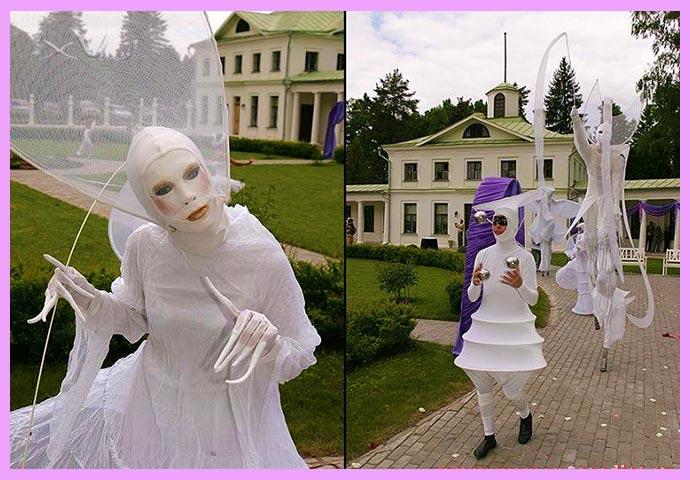 венициаскаая свадьба в замке